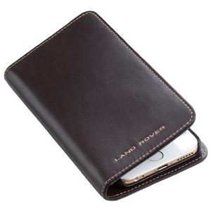 LEATHER IPHONE 6 WALLET - BROWN- 51LAPH269BNA