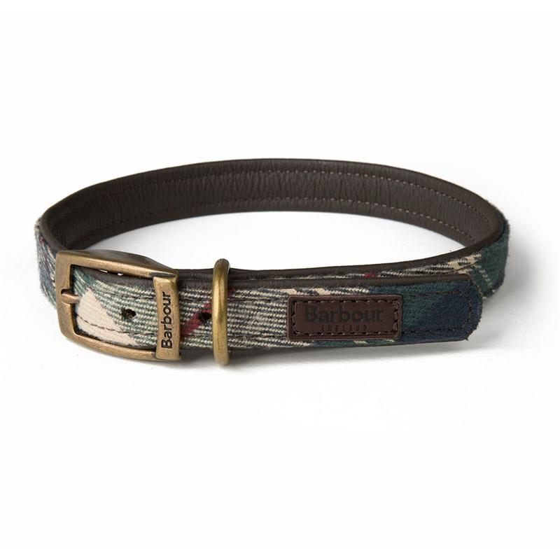 BARBOUR LAND ROVER DOG COLLAR